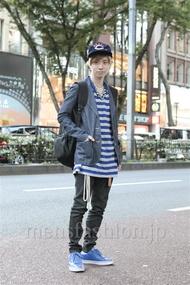 ファッションコーディネート原宿・表参道 2012年10月 内田 遼さん