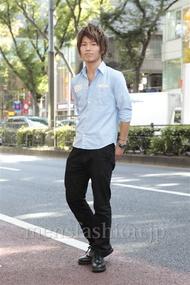 ファッションコーディネート原宿・表参道 2012年10月 隈元海人さん