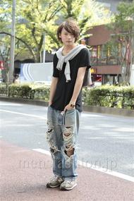ファッションコーディネート原宿・表参道 2012年10月 藤田純太さん