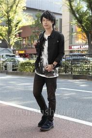 ファッションコーディネート原宿・表参道 2012年10月 菊池快瑠さん