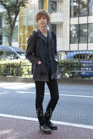 ファッションコーディネート原宿・表参道 2012年10月 飯島彰彦さん