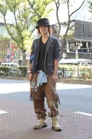 ファッションコーディネート原宿・表参道 2012年10月 馬場翔梧さん