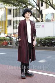 ファッションコーディネート原宿・表参道 2012年10月 キャシーさん