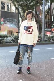ファッションコーディネート原宿・表参道 2012年10月 しょうごさん