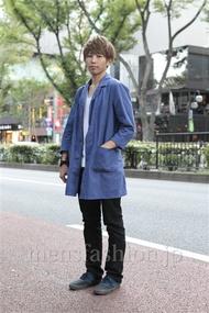 ファッションコーディネート原宿・表参道 2012年10月 大澤一嘉さん