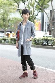ファッションコーディネート原宿・表参道 2012年10月 桑山巧己さん