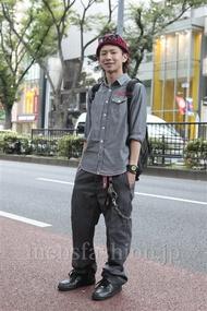 ファッションコーディネート原宿・表参道 2012年10月 ユウイチロウさん