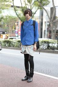 ファッションコーディネート原宿・表参道 2012年10月 山本健矢さん
