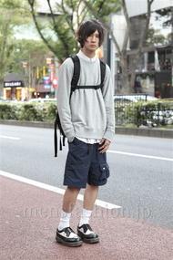ファッションコーディネート原宿・表参道 2012年10月 河西 宰さん