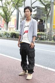 ファッションコーディネート原宿・表参道 2012年10月 シュンスケさん