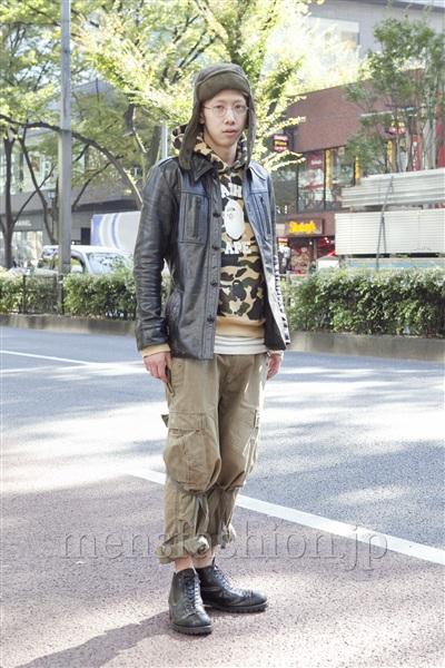 ファッションコーディネート原宿・表参道 2012年11月 松尾芳晴さん