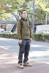 ファッションコーディネート原宿・表参道 2012年11月 中澤卓也さん