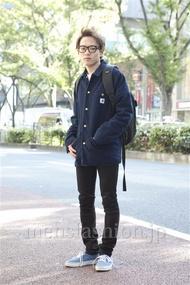 ファッションコーディネート原宿・表参道 2012年11月 辻 純平さん