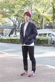 ファッションコーディネート原宿・表参道 2012年11月 梅津将太さん