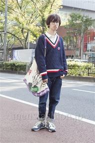 ファッションコーディネート原宿・表参道 2012年11月 浦辻大奨さん