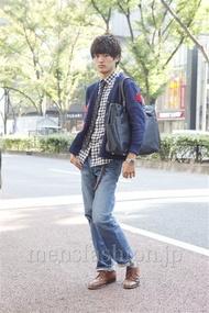 ファッションコーディネート原宿・表参道 2012年11月 上野晃宏さん