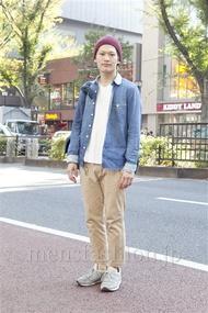 ファッションコーディネート原宿・表参道 2012年11月 渡部正馬さん