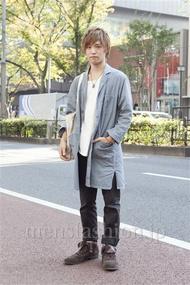 ファッションコーディネート原宿・表参道 2012年11月 高木眞之介さん