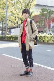 ファッションコーディネート原宿・表参道 2012年11月 木村政紀さん