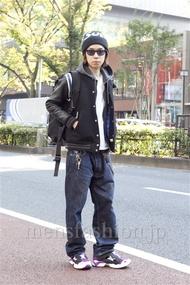 ファッションコーディネート原宿・表参道 2012年11月 アオキケンシンさん