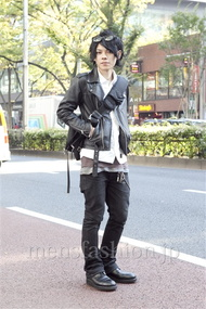 ファッションコーディネート原宿・表参道 2012年11月 黒山慶司さん