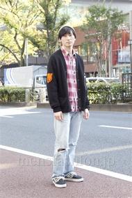 ファッションコーディネート原宿・表参道 2012年11月 松金祐大さん