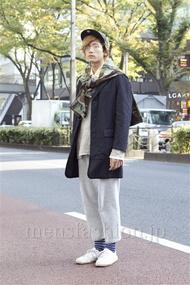 ファッションコーディネート原宿・表参道 2012年11月 加藤康貴さん