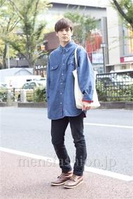 ファッションコーディネート原宿・表参道 2012年11月 佐々木和彦さん