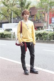 ファッションコーディネート原宿・表参道 2012年11月 郡司 圭さん