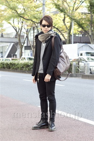 ファッションコーディネート原宿・表参道 2012年11月 山下大智さん