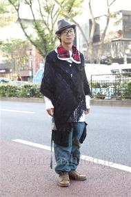 ファッションコーディネート原宿・表参道 2012年11月 シュンスケさん