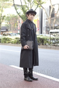 ファッションコーディネート原宿・表参道 2012年11月 石川健介さん