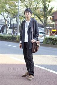 ファッションコーディネート原宿・表参道 2012年11月 高橋直斗さん