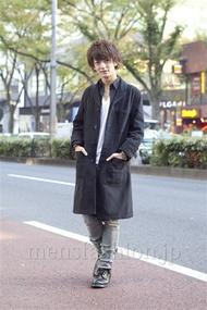 ファッションコーディネート原宿・表参道 2012年11月 大倉士門さん