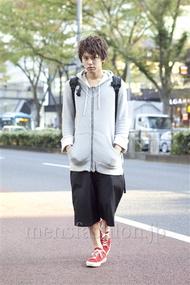 ファッションコーディネート原宿・表参道 2012年11月 高木進之介さん