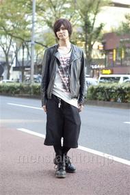 ファッションコーディネート原宿・表参道 2012年11月 引本侑樹さん