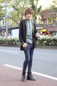 ファッションコーディネート原宿・表参道 2012年11月 村上健斗さん