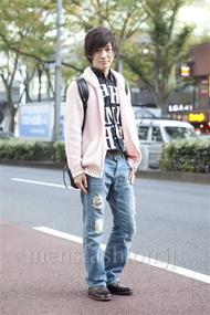 ファッションコーディネート原宿・表参道 2012年11月 小峰駿介さん
