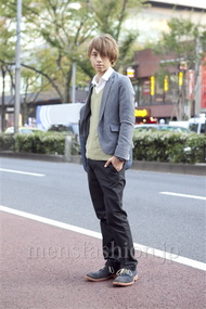 ファッションコーディネート原宿・表参道 2012年11月 音吉洋介さん