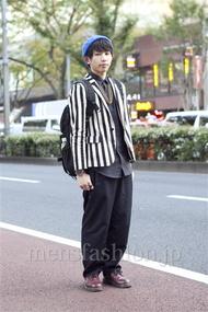 ファッションコーディネート原宿・表参道 2012年11月 大澤一嘉さん
