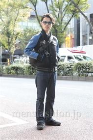 ファッションコーディネート原宿・表参道 2012年11月 青山清志さん