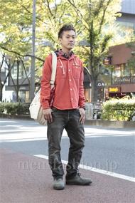 ファッションコーディネート原宿・表参道 2012年11月 川原一高さん