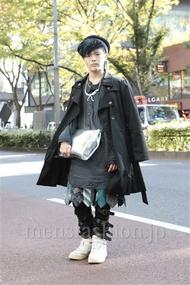 ファッションコーディネート原宿・表参道 2012年11月 nabescoさん