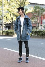 ファッションコーディネート原宿・表参道 2012年11月 河西 宰さん
