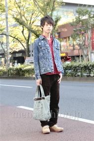 ファッションコーディネート原宿・表参道 2012年11月 五味純一さん