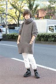 ファッションコーディネート原宿・表参道 2012年11月 石井俊伍さん