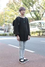 ファッションコーディネート原宿・表参道 2012年11月 斎藤章平さん
