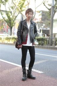 ファッションコーディネート原宿・表参道 2012年11月 平八重拓真さん