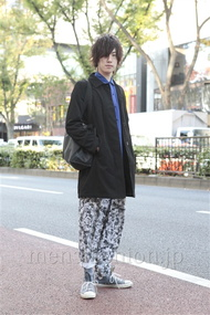 ファッションコーディネート原宿・表参道 2012年11月 北向達也さん