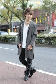 ファッションコーディネート原宿・表参道 2012年11月 川田晋吾さん